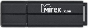 USB-флэш накопитель Mirex Color Blade Line Black 32GB (13600-FMULBK32) фото