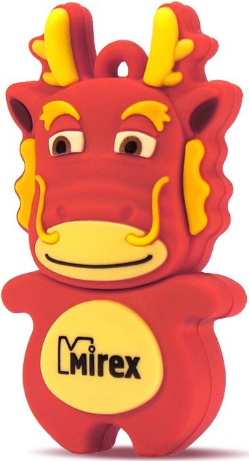 USB-флэш накопитель Mirex DRAGON RED 4GB (13600-KIDDAR04) фото