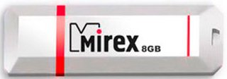 USB-флэш накопитель Mirex KNIGHT WHITE 8GB (13600-FMUKWH08) фото