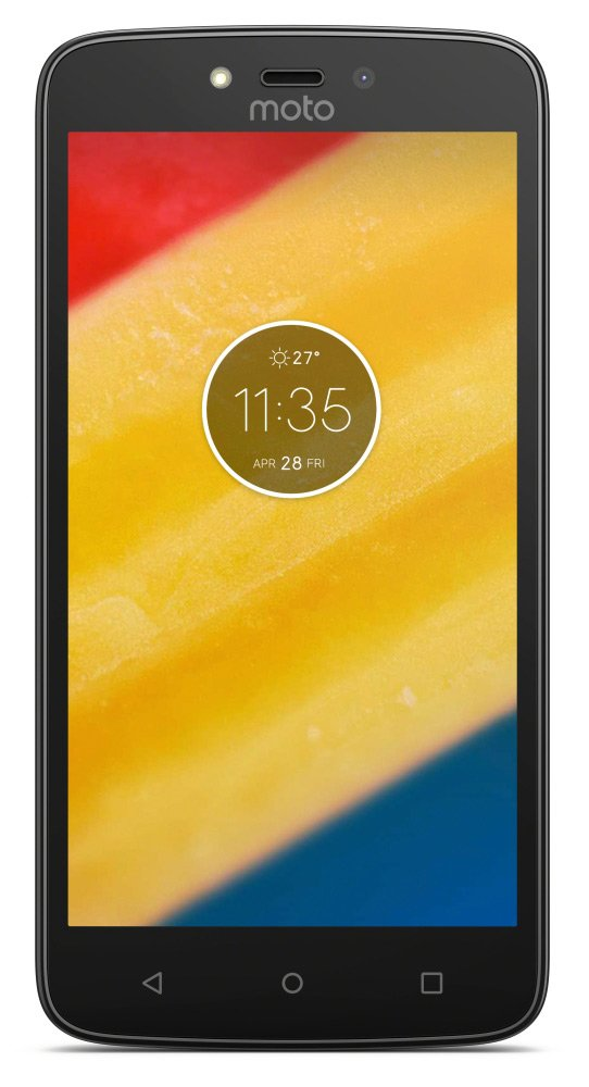 Мобильный телефон Motorola Moto C Plus (1Gb/16Gb) Black (XT1723)
