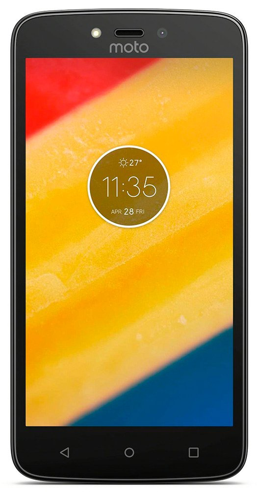 Мобильный телефон Motorola Moto C Plus (1Gb/16Gb) Gold (XT1723)