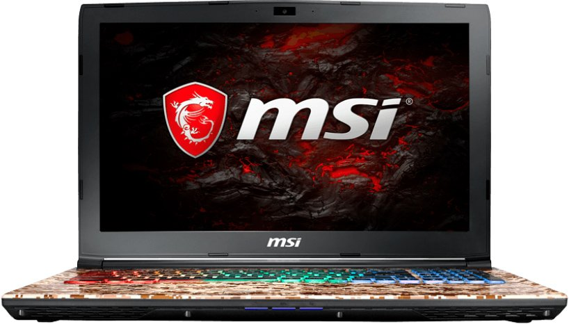 Ноутбук MSI GE62 7RE-1039PL Camo Squad Limited Edition фото