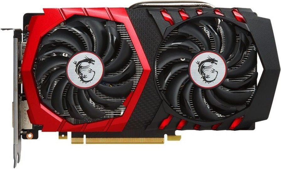 Видеокарта MSI GTX 1050 Ti GAMING X 4G GeForce GTX 1050 Ti 4Gb GDDR5 128bit фото