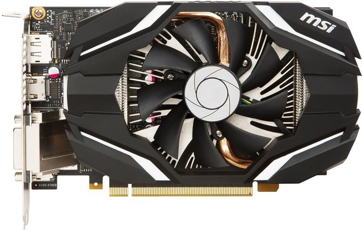 Видеокарта MSI GTX 1060 6G OC GeForce GTX 1060 6Gb GDDR5 192bit