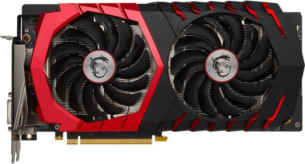 Видеокарта MSI GTX 1060 GAMING 3G GeForce GTX 1060 3Gb GDDR5 192bit фото