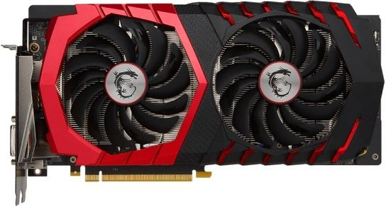 Видеокарта MSI GTX 1060 GAMING 6G GeForce GTX 1060 6Gb GDDR5 192bit фото