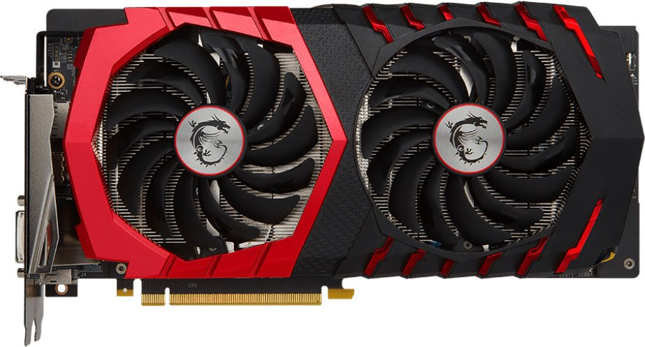 Видеокарта MSI GTX 1060 GAMING X GeForce GTX 1060 6Gb GDDR5 192bit