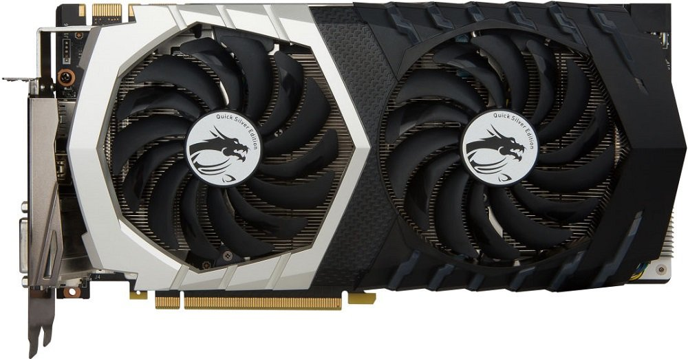 Видеокарта MSI GTX 1070 QUICK SILVER 8G OC GeForce GTX 1070 8Gb GDDR5 256bit