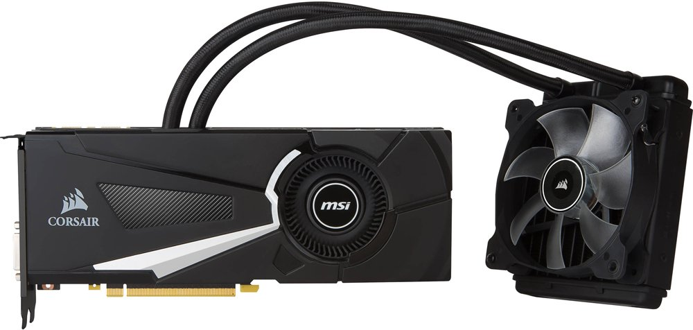 Видеокарта MSI GTX 1070 SEA HAWK X GeForce GTX 1070 8Gb GDDR5 256bit