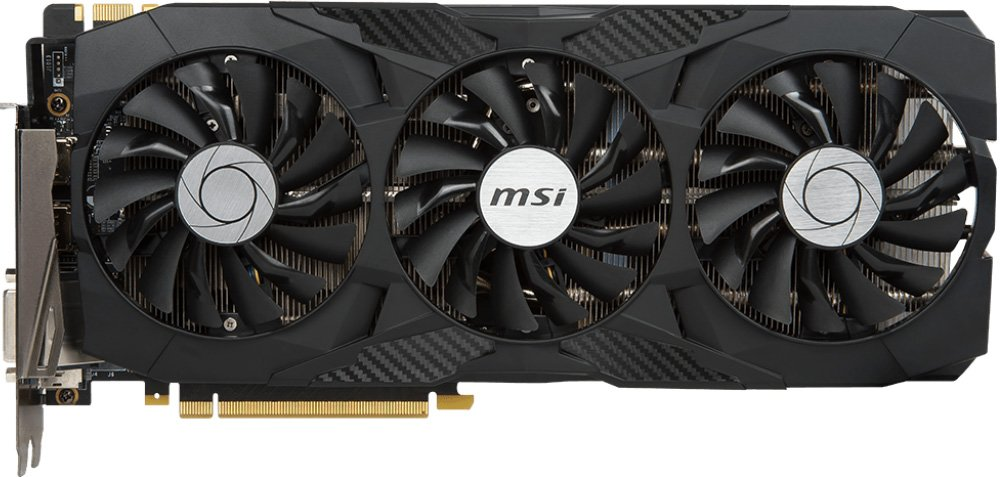 Видеокарта MSI GTX 1080 Ti DUKE 11G OC GeForce GTX 1080 Ti11Gb GDDR5X 352bit фото