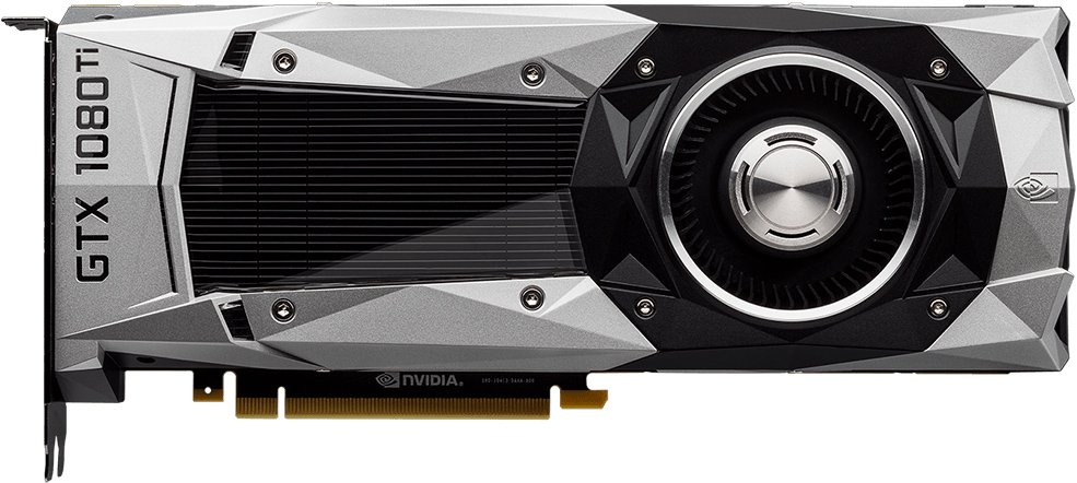 Видеокарта MSI GTX 1080 Ti Founders Edition GeForce GTX 1080 Ti 11Gb GDDR5X 352bit