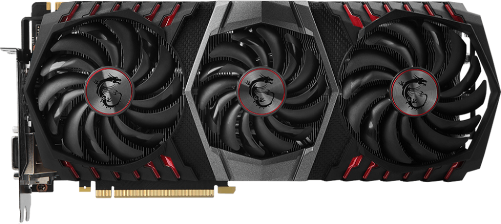 Видеокарта MSI GTX 1080 TI GAMING TRIO GeForce GTX 1080 Ti 11GB GDDR5X 352bit фото