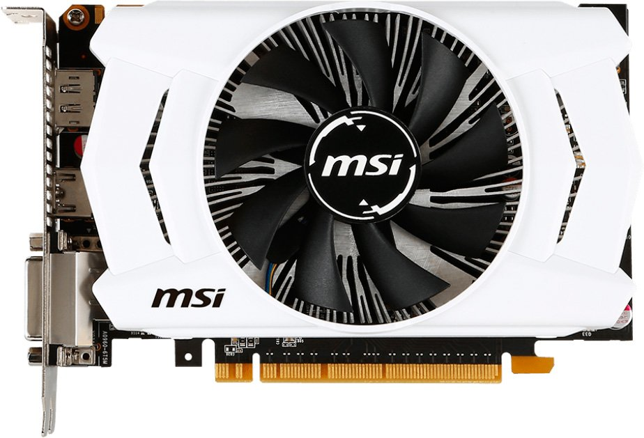Видеокарта MSI GTX 950 2GD5 OC Geforce GTX 950 2Gb GDDR5 128bit