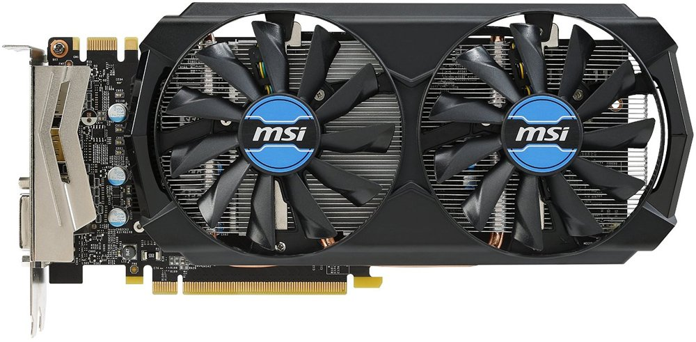Видеокарта MSI GTX 970 4GD5T OC GeForce GTX 970 4096Mb GDDR5 256bit