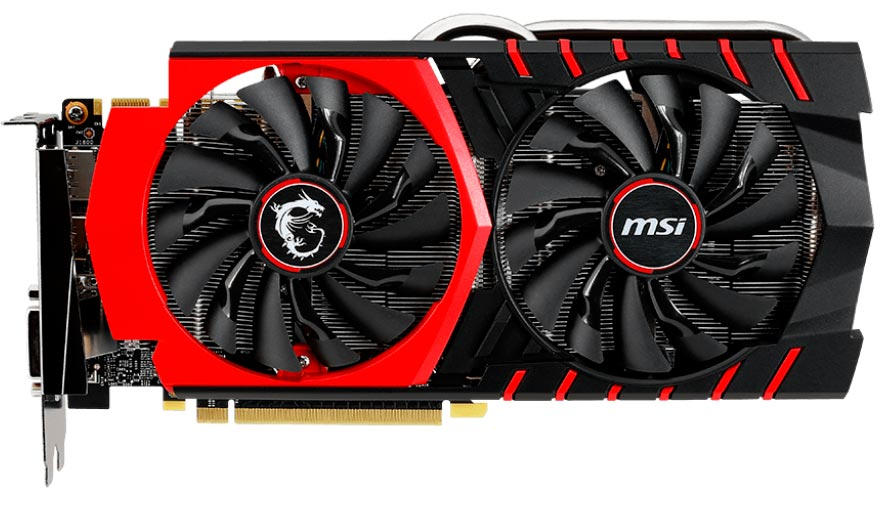 Видеокарта MSI GTX 970 GAMING 4G GeForce GTX 970 4096Mb GDDR5 256bit