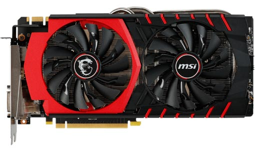Видеокарта MSI GTX 980 GAMING 4G GeForce GTX 980 4096Mb GDDR5 256bit