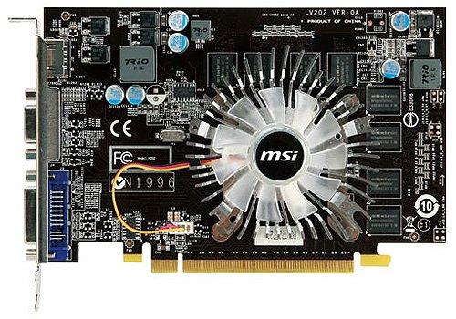Видеокарта MSI N220GT-MD512 GeForce GT 220 512Mb 128bit