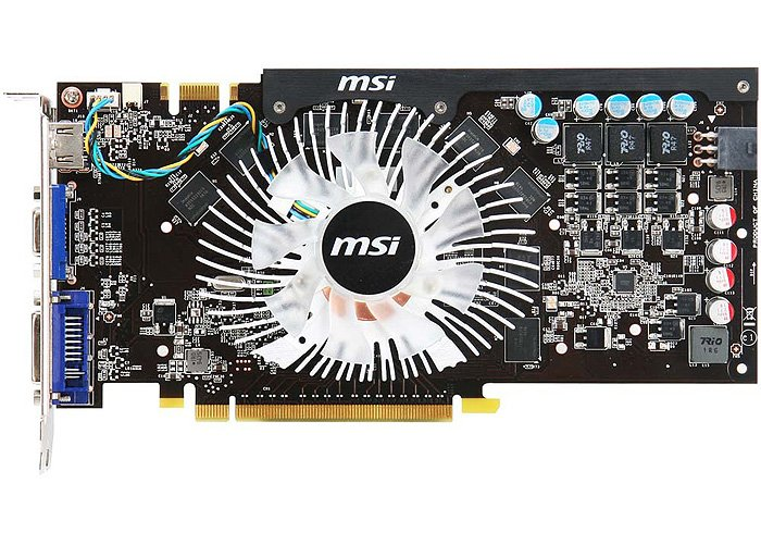 Видеокарта MSI N250GTS-MD512 GeForce GTS 250 512 Mb 256bit