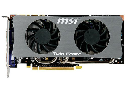 Видеокарта MSI N250GTS Twin Frozr 1G GeForce GTS 250 1Gb 256bit