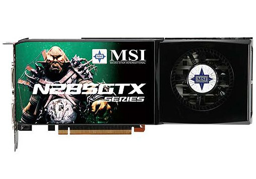 ���������� MSI N285GTX-T2D1G-OC GeForce GTX 285 1Gb 512bit
