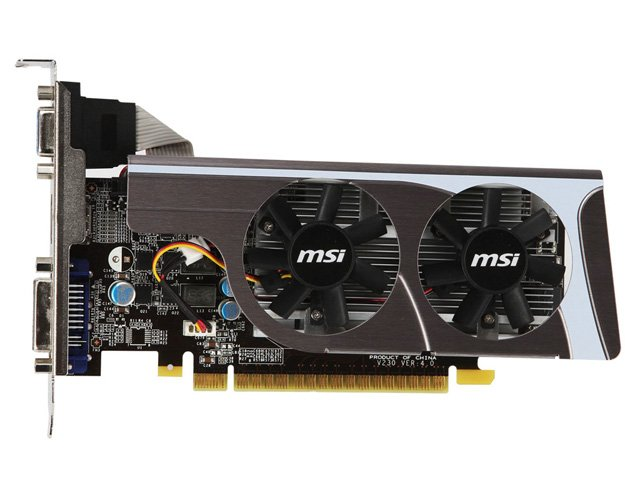 Видеокарта MSI N440GT-MD1GD3/LP GeForce GT 440 1024Mb GDDR3 128bit