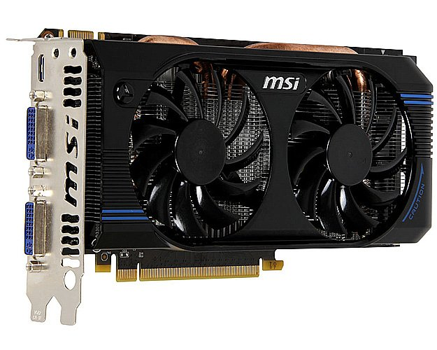 Видеокарта MSI N560GTX-SE-M2D1GD5/OC GeForce GTX 560 SE 1024Mb DDR5 192bit