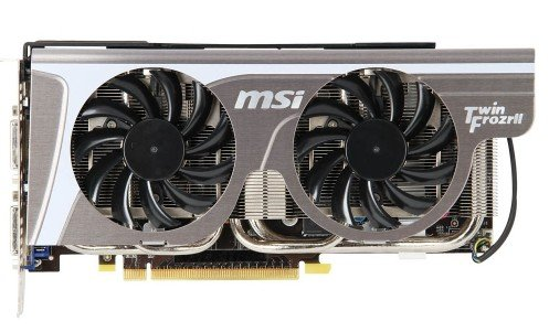 Видеокарта MSI N560GTX-Ti Twin Frozr II 2GD5/OC GeForce GTX 560 Ti 2048MB GDDR5 256bit