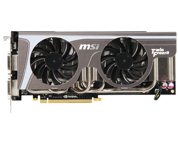 Видеокарта MSI N580GTX Twin Frozr II GeForce GTX580 1536Mb GDDR5 384bit
