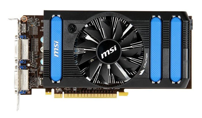 Видеокарта MSI N650Ti-1GD5/OC GeForce GTX 650 Ti 1024Mb GDDR5 128bit