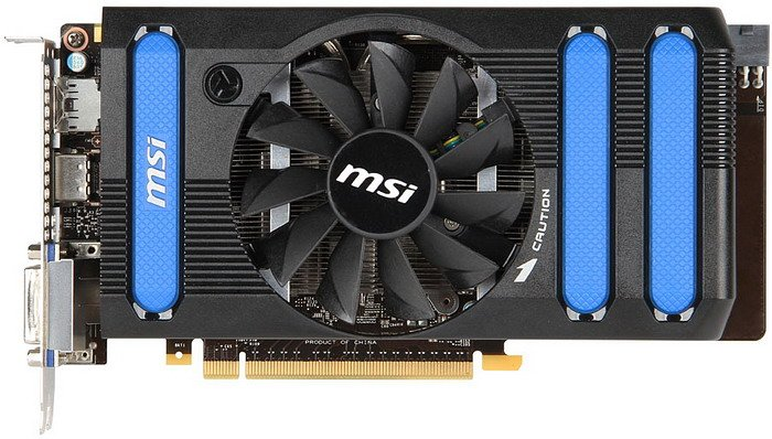 Видеокарта MSI N660-2GD5/OC GeForce GTX 660 2048Mb GDDR5 192bit