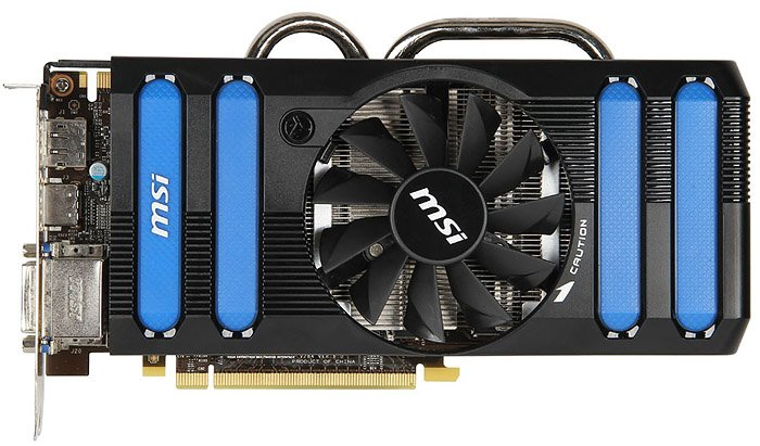 Видеокарта MSI N660Ti-2GD5/OC GeForce GTX 660 Ti 2048Mb GDDR5 192bit