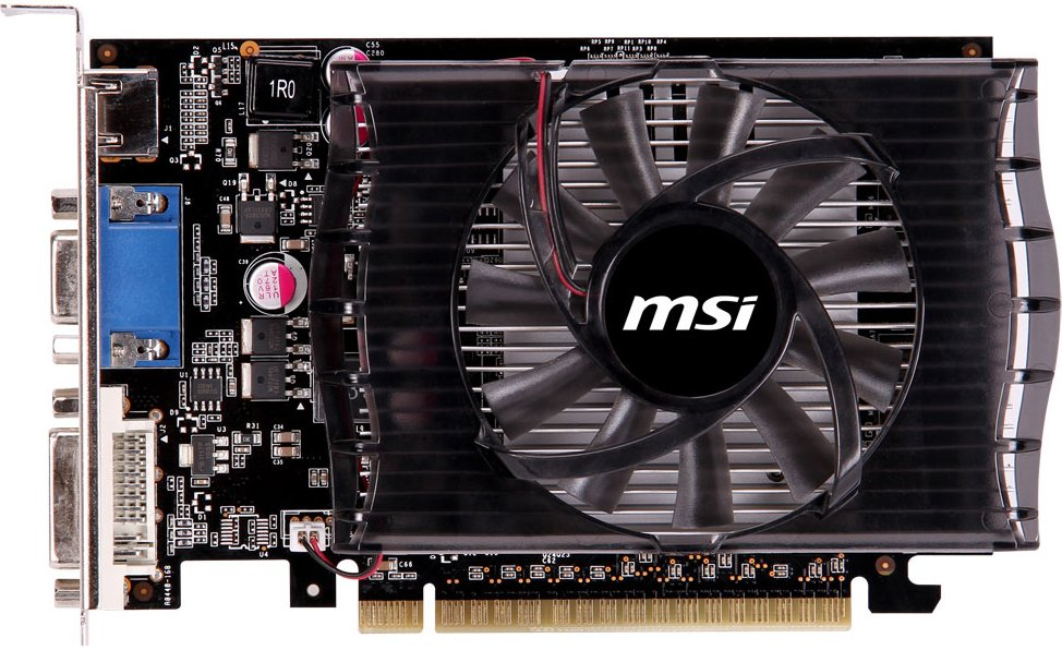 Видеокарта MSI N730-2GD3V2 GeForce GT 730 2Gb DDR3 128bit фото