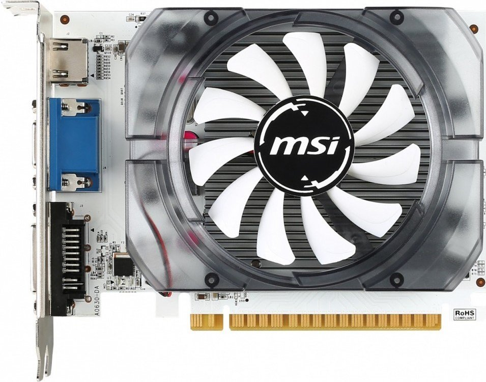 Видеокарта MSI N730-4GD3V2 GeForce GT 730 4096MB GDDR3 128bit
