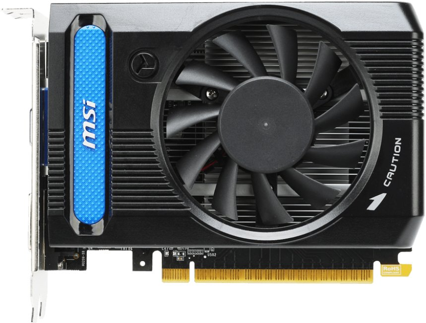 Видеокарта MSI N730K-2GD3/OC GeForce GT 730 2Gb GDDR3 64bit
