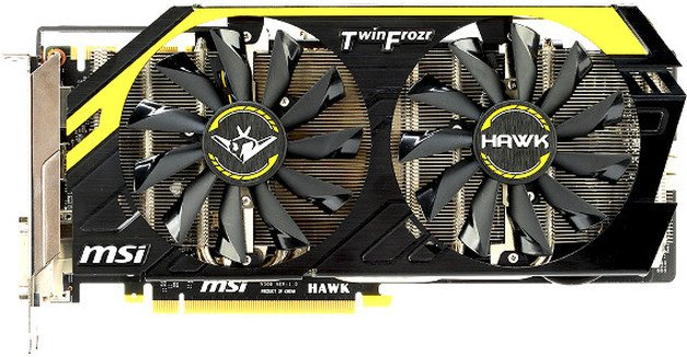 Видеокарта MSI N760 HAWK GeForce GTX 760 2048Mb GDDR5 256bit
