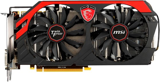 ���������� MSI N770 TF 4GD5/OC GeForce GTX 770 4096Mb GDDR5 256bit