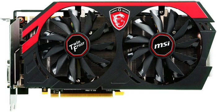 Видеокарта MSI N780 TF 3GD5/OC GeForce GTX 780 3072Mb GDDR5 384bit