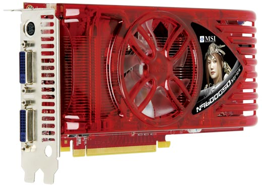 Видеокарта MSI N9600GSO-T2D384 GeForce 9600GSO 384Mb 192bit