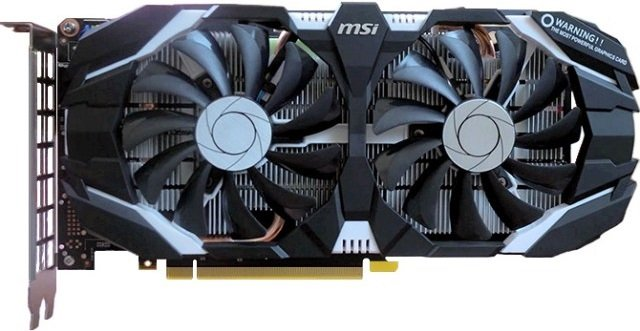Видеокарта MSI P106-100 MINER 6G GeForce GTX 1060 6GB GDDR5 192bit