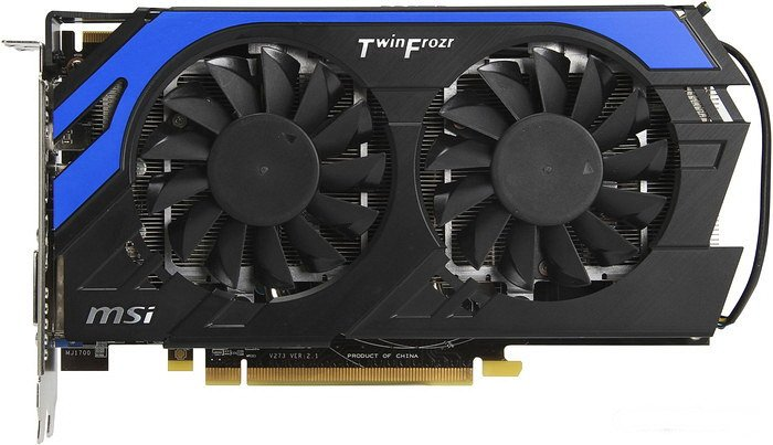 Видеокарта MSI R7850 Power Edition 2GD5/OC Radeon HD 7850 2048Mb GDDR5 256bit