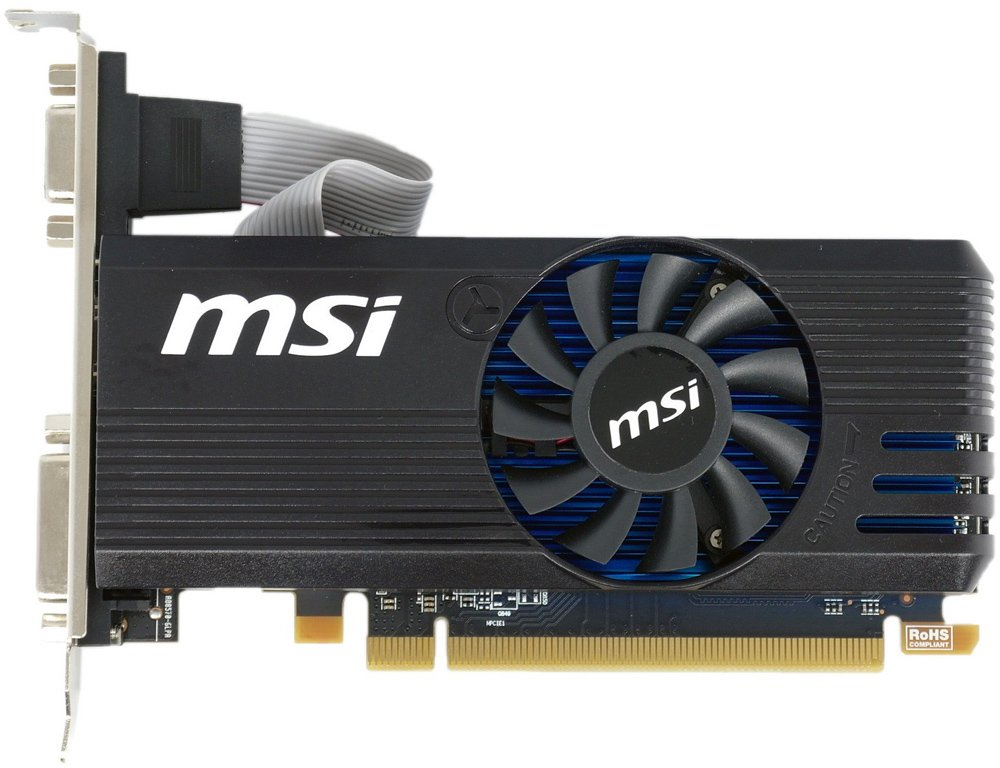 Видеокарта MSI R7 240 2GD3 LP Radeon R7 240 2Gb GDDR3 128bit фото