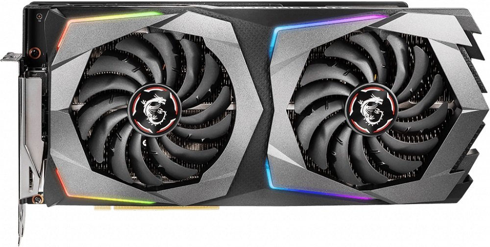 Видеокарта MSI RTX 2070 GAMING 8G GeForce RTX 2070 8GB GDDR6 256bit фото