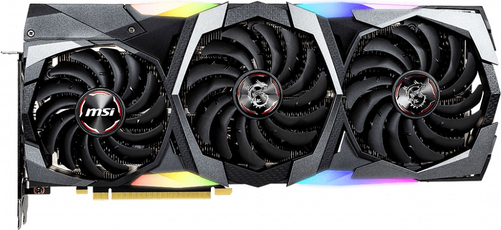 Видеокарта MSI RTX 2070 SUPER GAMING Z TRIO GeForce RTX 2070 8GB GDDR6 256bit фото