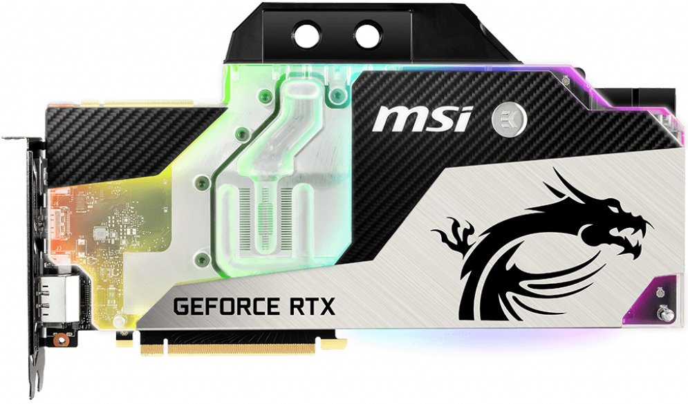 Видеокарта MSI RTX 2080 Sea Hawk EK X GeForce RTX 2080 8GB GDDR6 256bit фото