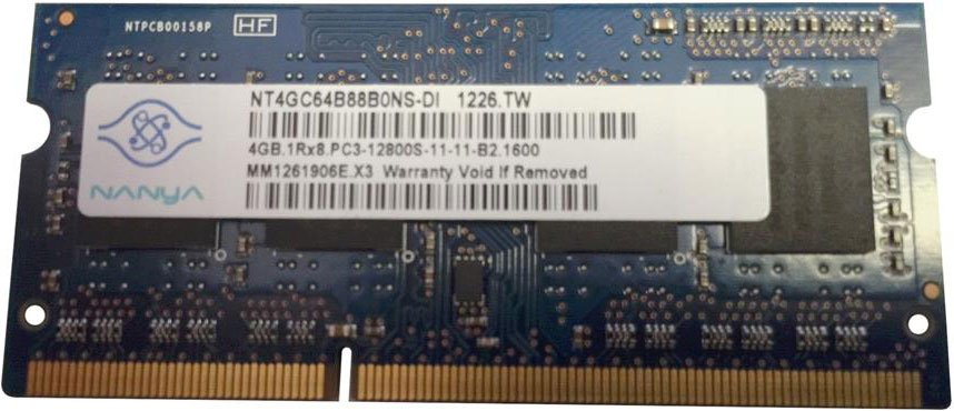 Модуль памяти Nanya NT4GC64B88B0NS-DI DDR3 PC3-12800 4Gb