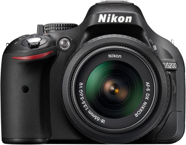 Фотоаппарат Nikon D5200 Double Kit 18-55mm VR & 55-200mm VR