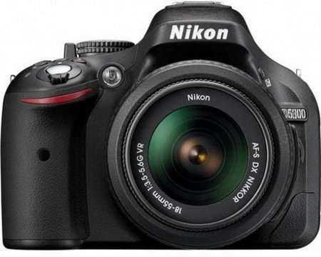 Фотоаппарат Nikon D5300 Double Kit 18-55mm VR & 55-200mm VR