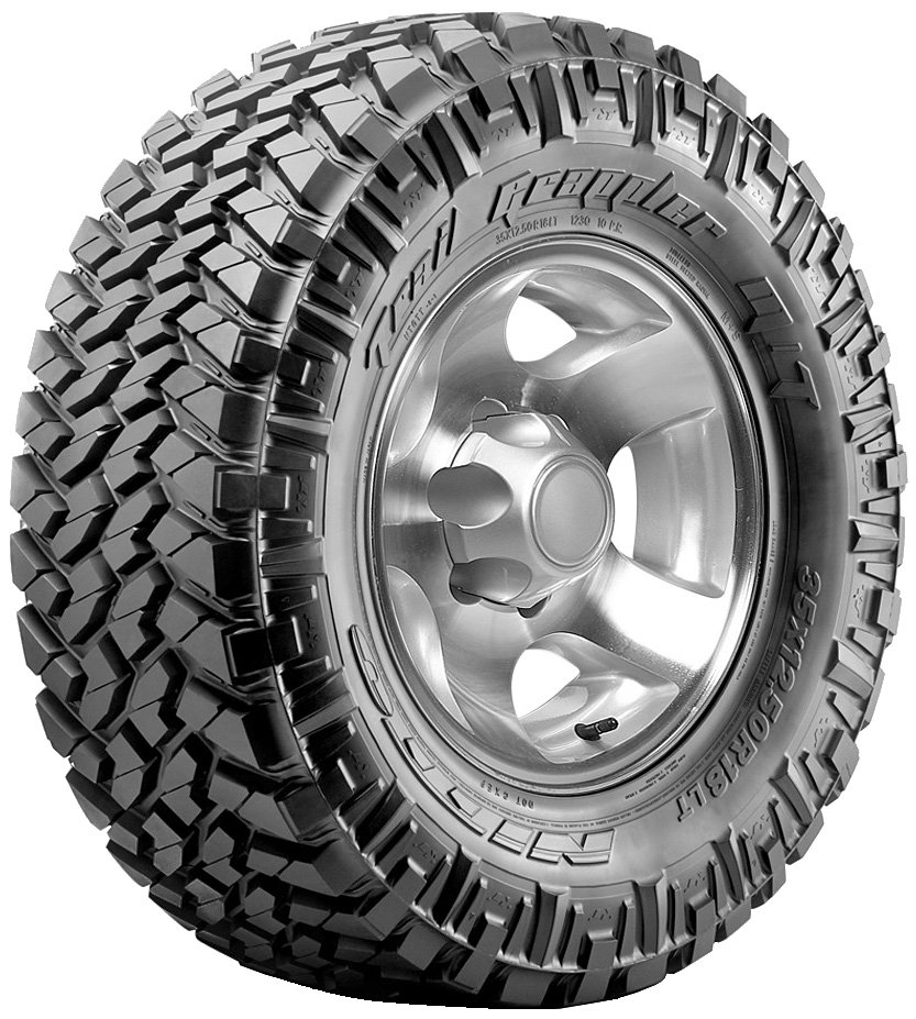 Летняя шина Nitto Trail Grappler M/T 285/65R18 121/118P