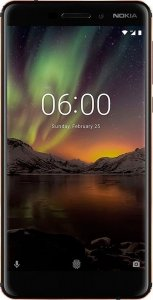 Nokia 6.1 4Gb/64Gb Black фото