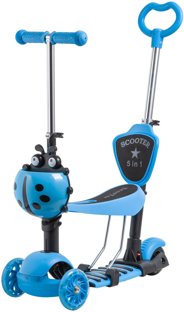 Самокат NOVATRACK Disco-Kids Saddle Pro 120SB.DISCOKIDS.BL9 фото
